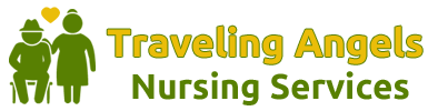Traveling Angels Nursing Services, Logo